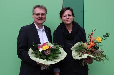Paula Elsholz und Uwe Warnecke für Düsseldorf