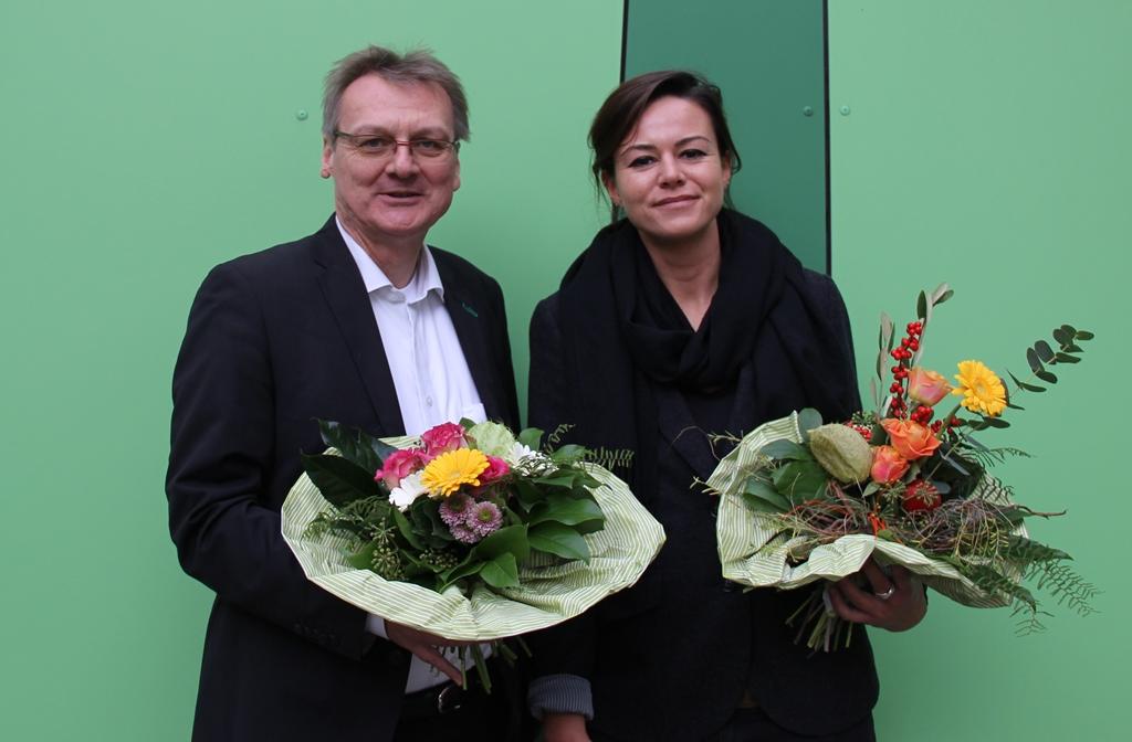 Paula Elsholz und Uwe Warnecke für die Bundestagswahl 2017 nominiert