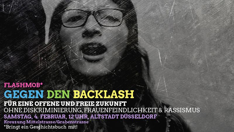 "Flashmob  ""Gegen den Backlash"""