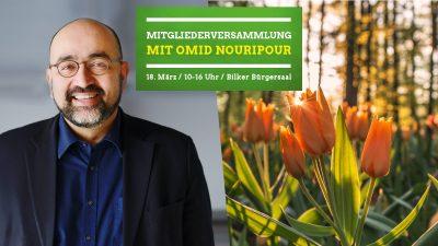 JMV Grüne Düsseldorf mit Omid Nouripour