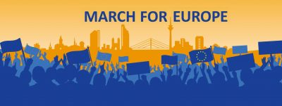 March for Europe Düsseldorf