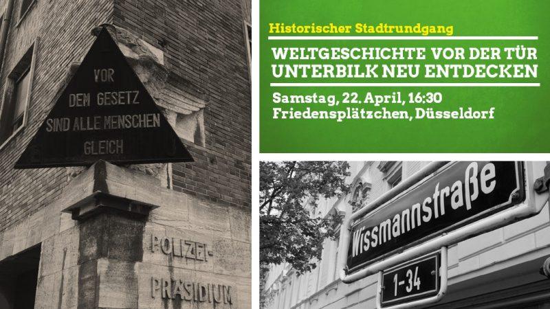 Weltgeschichte in Unterbilk GRÜNE Düsseldorf