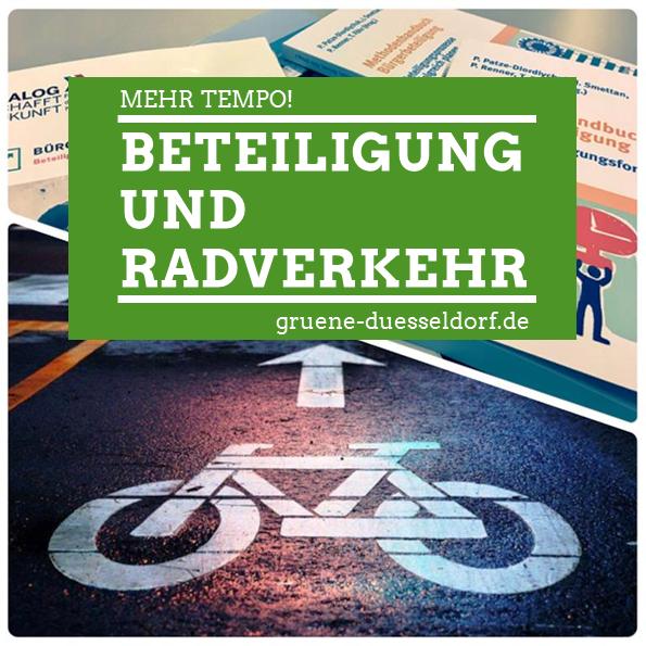 Mehr Tempo beim Radverkehr und weiteren Ausbau der Bürger*innenbeteiligung