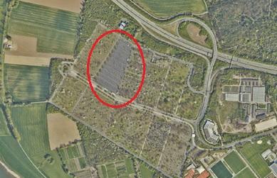 Messeparkplätze Luftbild Geoportal http://maps.duesseldorf.de