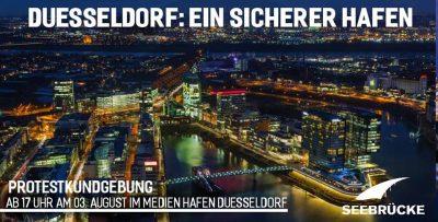 Seebrücke Demo