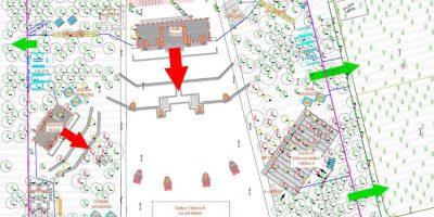 Ausschnitt Plan Openair-Gelände