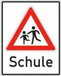 Verkehrsschild Schule