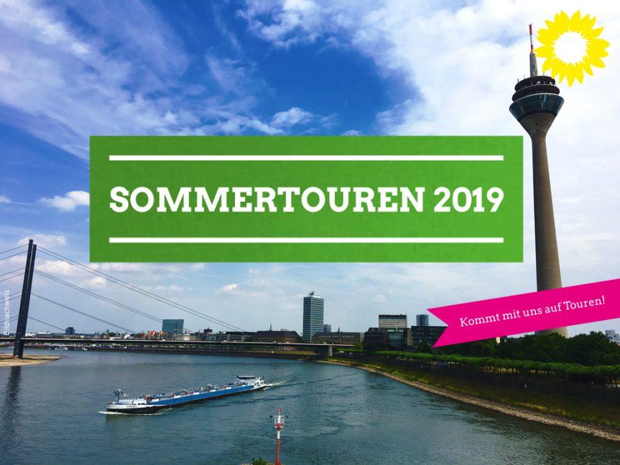 GRÜNE Sommertouren 2019