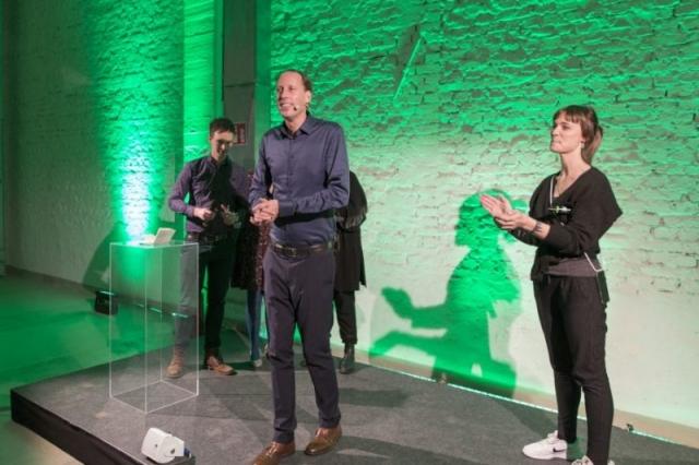 Raoul Rossbach, Stefan Engstfeld, Nyke Slawik Grüne MV 21.01.2020 Foto: Dominic Heidl