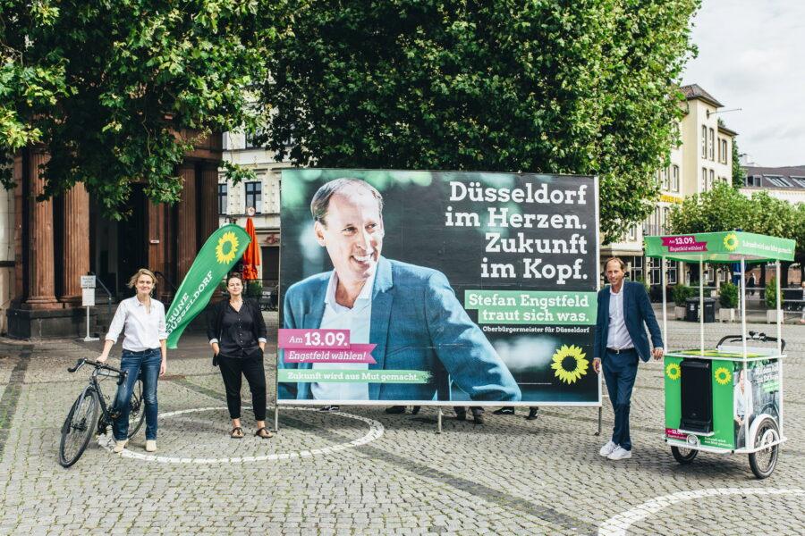 GRÜNE wollen stärkste Kraft in Düsseldorf werden