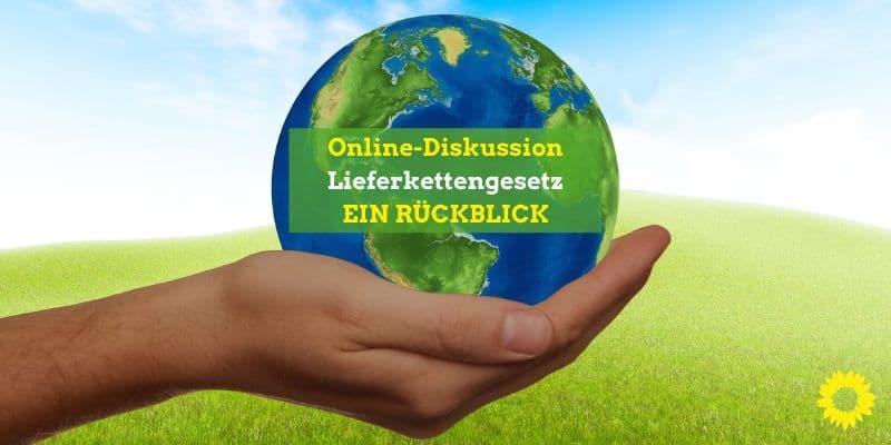 Online-Diskussion zum Lieferkettengesetz ein voller Erfolg