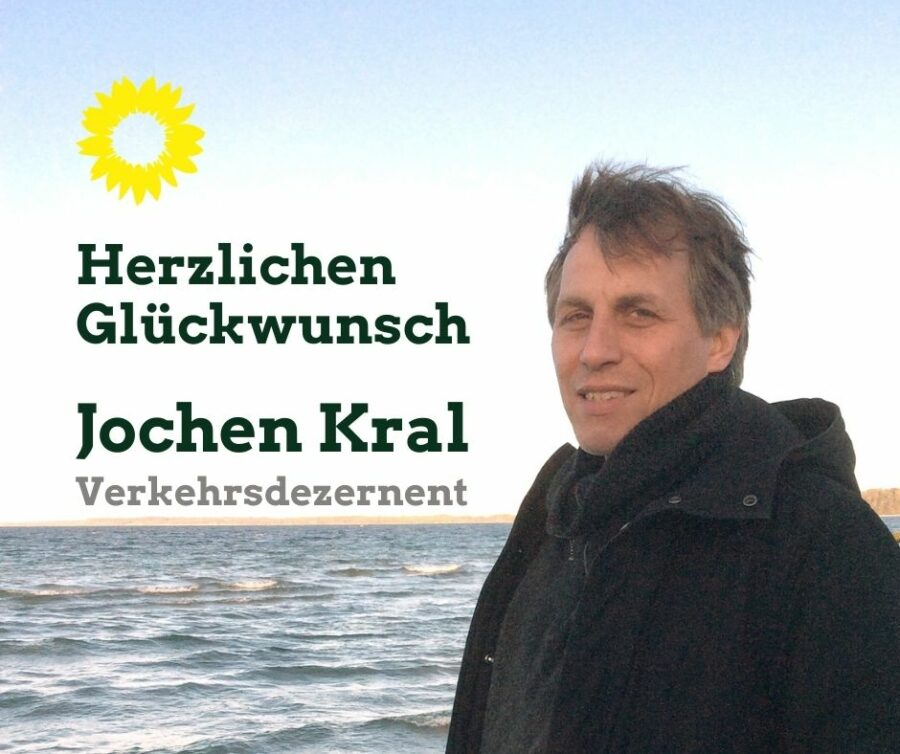 Jochen Kral wird neuer Dezernent für Mobilität