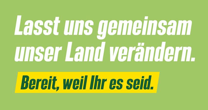 Bundestagswahl 2021 - Lasst uns gemeinsam unser Land verändern. Bereit, weil Ihr es seid.