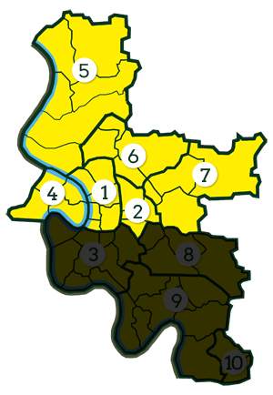 Düsseldorfer Norden - Wahlkreis 106