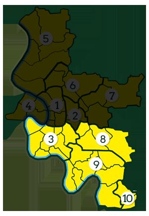 Düsseldorfer Süden - Wahlkreis 107